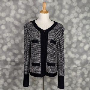 St. John Nautical Cardigan Jacket